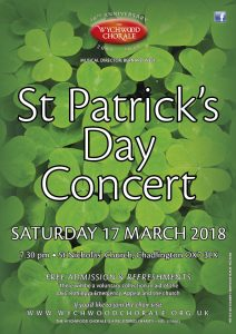St Patrick's Day Concert @ St Nicholas' Church, Chadlington OX7 3LX