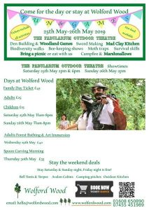 Wolford Wood Family Weekend @ Wolford Wood, Great Wolford Road, | England | United Kingdom