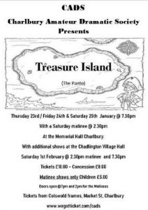 'Treasure Island' panto in Chadlington @ Chadlington Memorial Hall | Chadlington | England | United Kingdom