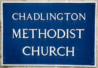 Methodist Church Sign