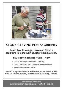 Stone carving class with sculptor in Charlbury @ Workshop near Charlbury station | Charlbury | England | United Kingdom